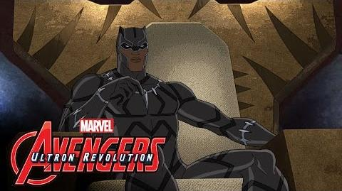 Marvel's Avengers Ultron Revolution – Black Panther Featurette