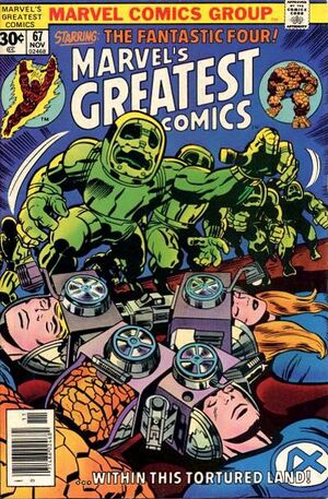 Marvel's Greatest Comics Vol 1 67