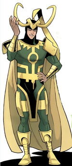 Loki Laufeyson (Earth-5631) Thor and the Warriors Four Vol 1 2