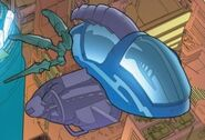Quinjet from Secret Wars 2099 Vol 1 2