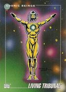 Living Tribunal (Multiverse) from Marvel Universe Cards Series III 0001