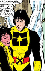 Archangel (Earth-87050) from New Mutants Vol 1 49 0001