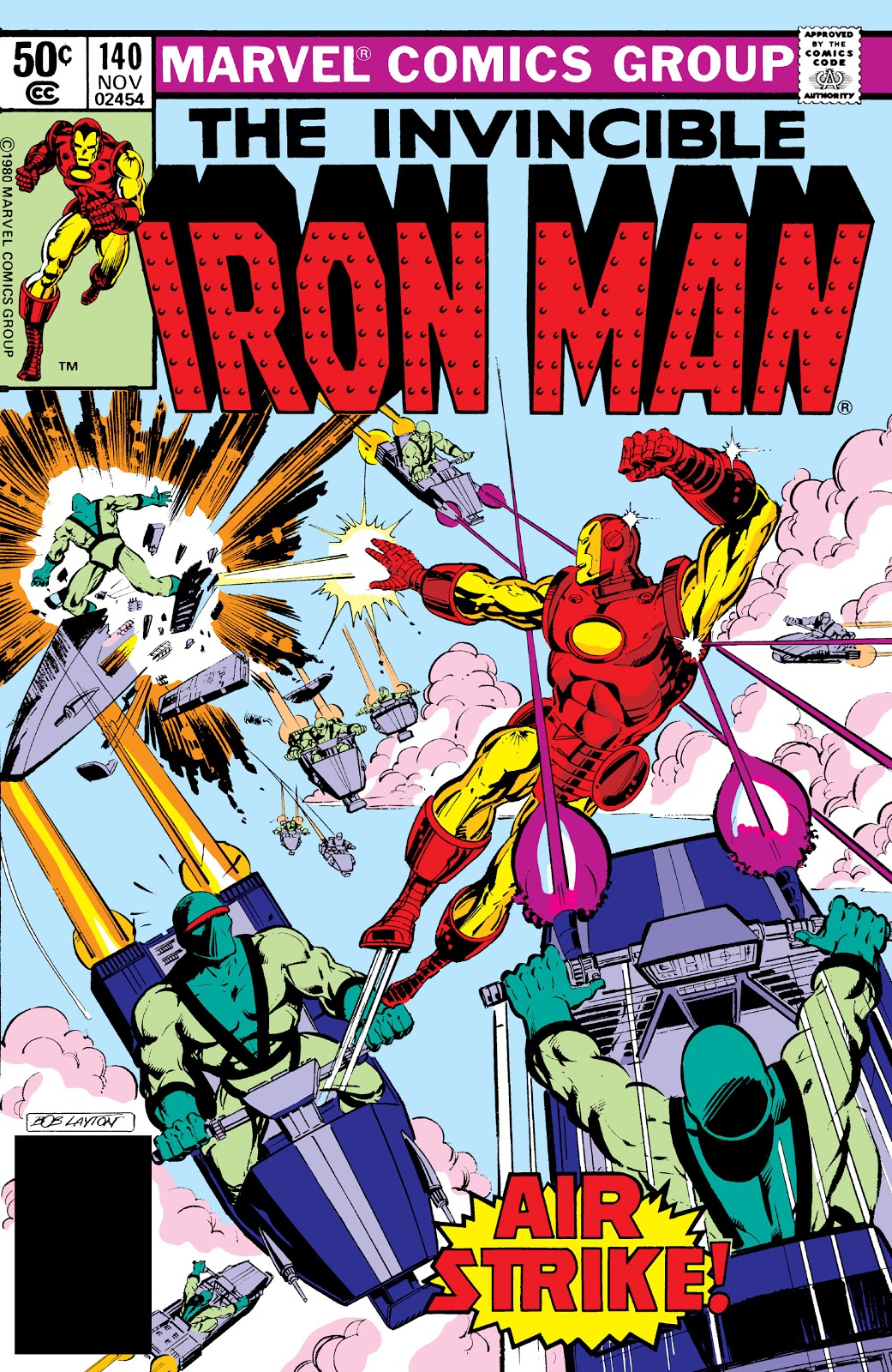 Iron Man Vol 1 140 Marvel Database