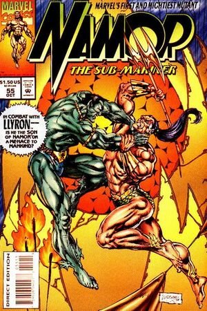 Namor the Sub-Mariner Vol 1 55