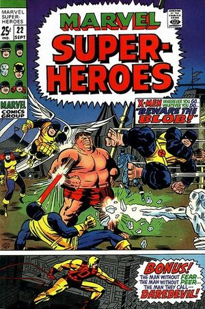 Marvel Super-Heroes Vol 1 22