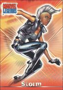 Ororo Monroe (Earth-616) from Marvel Legends (Trading Cards) 0003