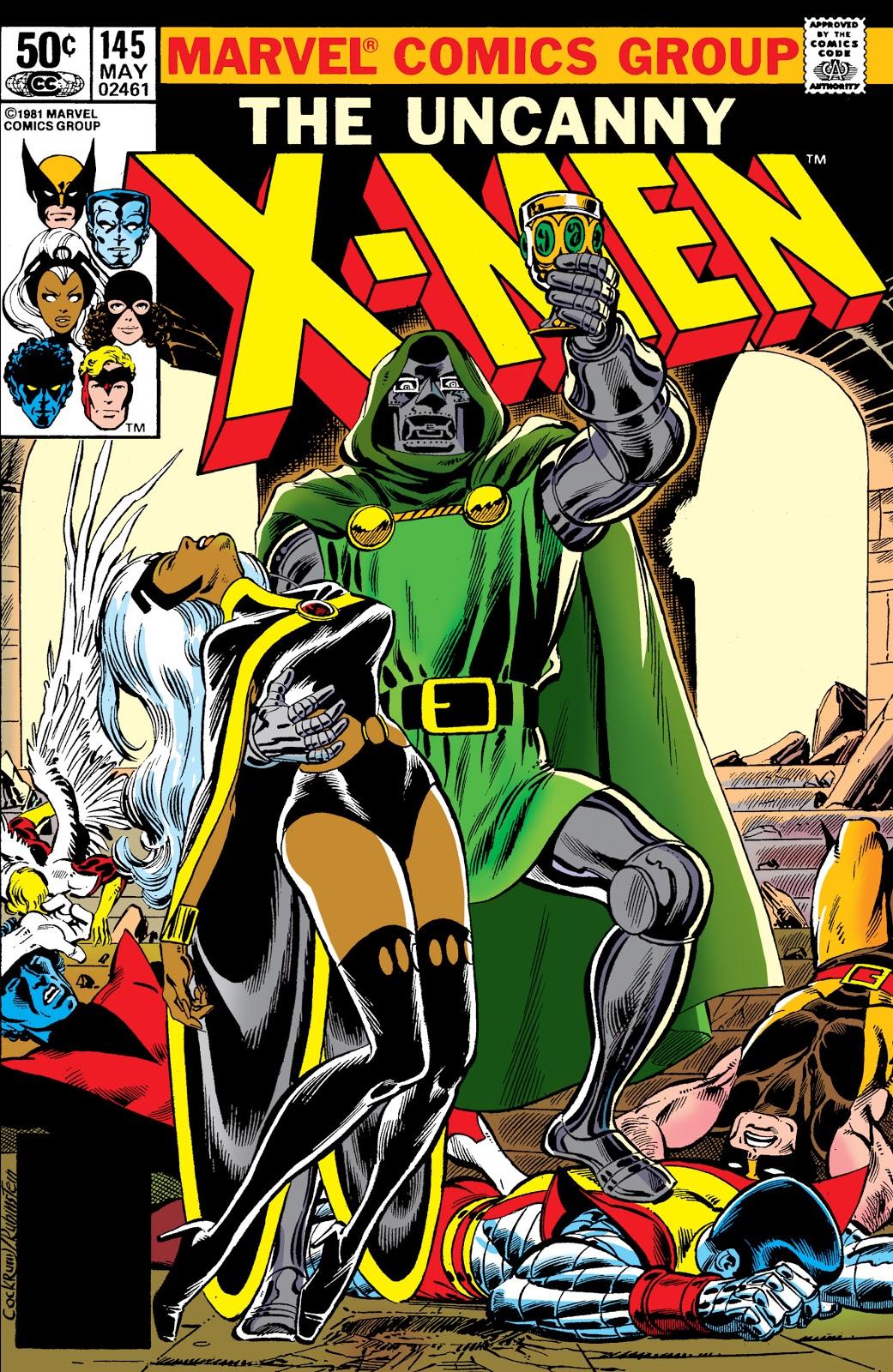 Uncanny X-Men Vol 1 145