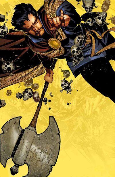 Doctor Strange Vol 4 1 Textless