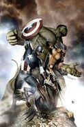 Avengers Vol 5 3 Granov Variant Textless