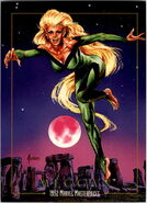 Meggan Pucena (Earth-616) from Marvel Masterpieces Trading Cards 1992 0001