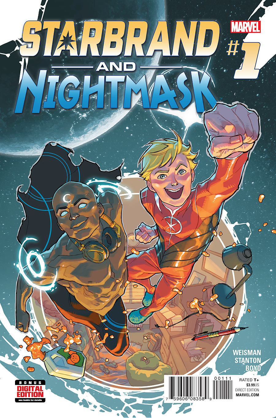 Image result for starbrand and nightmask vol. 1
