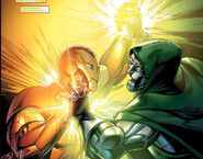 Victor von Doom (Earth-616) and Anthony Stark (Earth-616) from Mighty Avengers Vol 1 9 001
