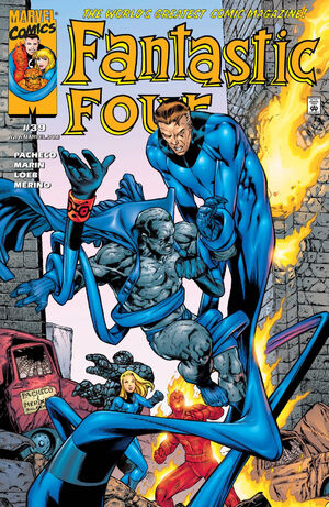 Fantastic Four Vol 3 39