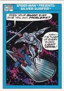 Spider-Man Presents Silver Surfer from Marvel Universe Cards Series I 0001