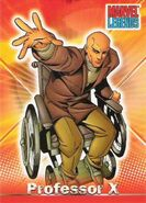 Charles Xavier (Earth-616) from Marvel Legends (Trading Cards) 0001