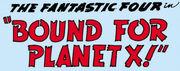Fantastic Four Vol 1 7 Part 3 Title