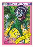 Nightmare (Earth-616) from Marvel Universe Cards Series I 0001