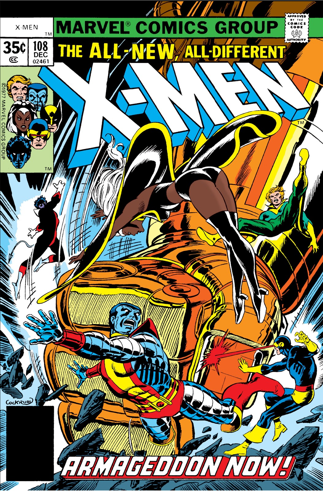Image result for uncanny x-men 108