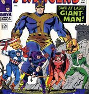 Avengers (Earth-616) Goliath joins the team from Avengers Vol 1 28