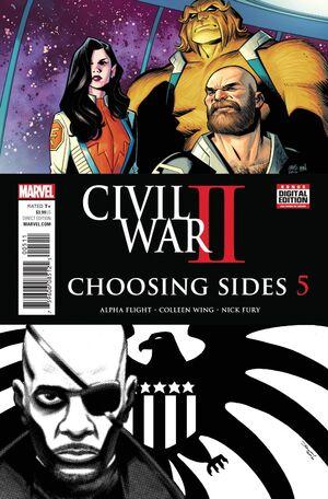 Civil War II Choosing Sides Vol 1 5