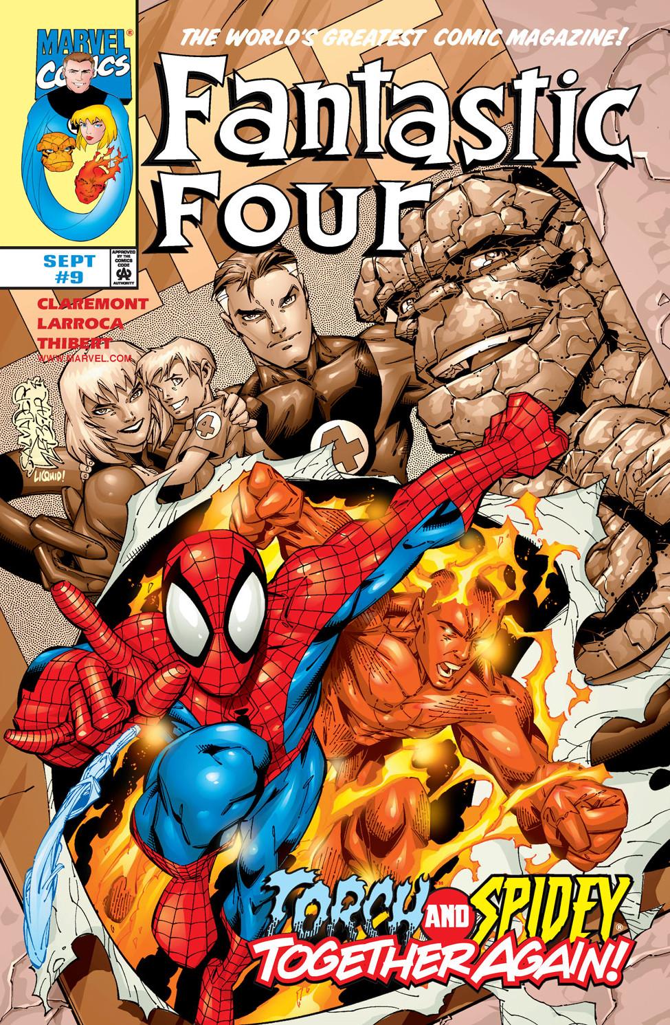 fantastic four vol 3 9 marvel database fandom powered