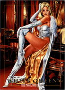 Emma Frost (Earth-616) from Marvel Masterpieces Trading Cards 1992 0001