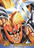 Gaveedra Seven (Mojoverse) from 1996 Fleer X-Men (Trading Cards) 0001
