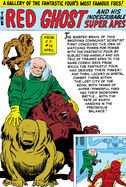 Red Ghost and His Super Apes Gallery Page from Fantastic Four Annua Vol 1 1