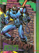 En Sabah Nur (Earth-616) from Marvel Universe Trading Cards Series IV 0001