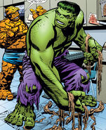 Bruce Banner (Earth-616) and Benjamin Grimm (Earth-616) from Marvel Monsters Monsters on the Prowl Vol 1 1 0001