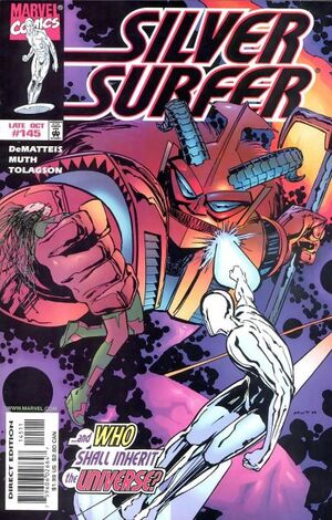Silver Surfer Vol 3 145