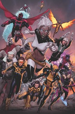 Extraordinary X-Men Vol 1 17 Molina Variant Textless