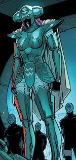 Aquarius (Jacobs' Zodiac) (Earth-616) from Amazing Spider-Man Vol 4 2 001