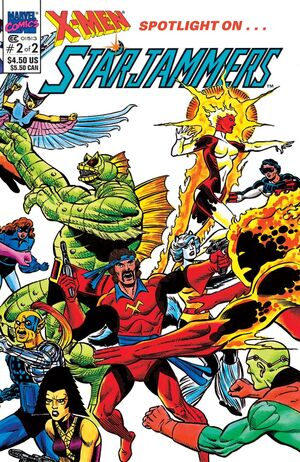 X-Men Spotlight on Starjammers Vol 1 2