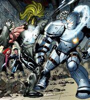 Anthony Stark (Earth-616) vs. Anton Vanko (Whiplash) (Earth-616) from Iron Man vs. Whiplash Vol 1 3 001