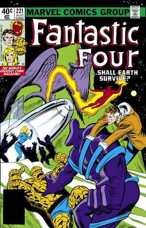 Fantastic Four Vol 1 221