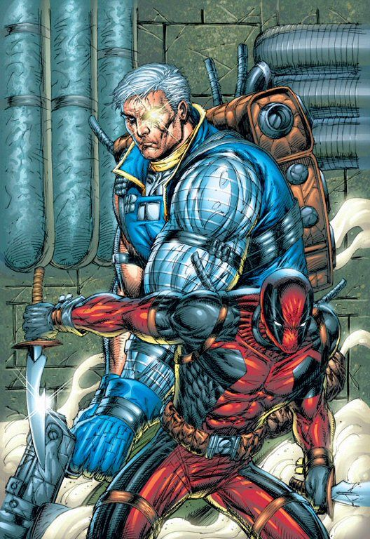 Cable & Deadpool Vol 1 4 Textless
