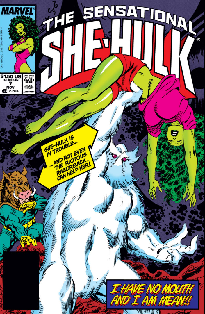 Sensational She-Hulk Vol 1 7