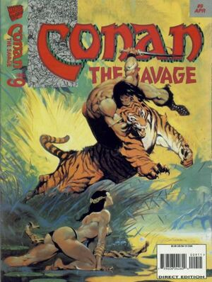Conan the Savage Vol 1 9