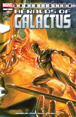 Annihilation Heralds of Galactus Vol 1 2