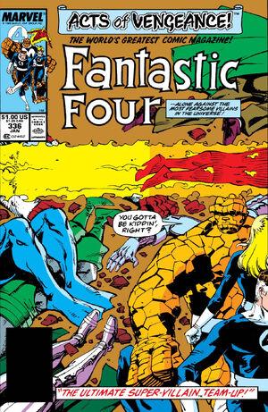 Fantastic Four Vol 1 336