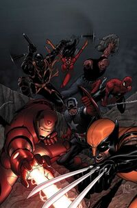 New Avengers Vol 1 16 Textless