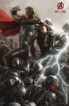 Avengers Age of Ultron concept art poster 007