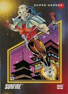 Shiro Yoshida (Earth-616) from Marvel Universe Cards Series III 0001