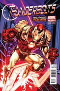 Thunderbolts Vol 2 8 Many Armors of Iron Man Variant