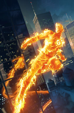 Human Torch Wallpaper - WallpaperSafari