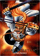 Gaveedra Seven (Mojoverse) from Marvel Masterpieces Trading Cards 1992 0001