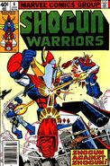 Shogun Warriors Vol 1 6