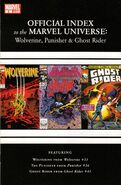 Wolverine, Punisher & Ghost Rider Official Index to the Marvel Universe Vol 1 2
