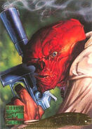 Johann Shmidt (Earth-616) from Marvel Masterpieces Trading Cards 1995 Set 0001